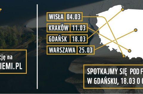 """""""Godzina dla Ziemi – Godzina dla Wisły""""- kampania Fundacji WWF Polska w Gdańsku"""
